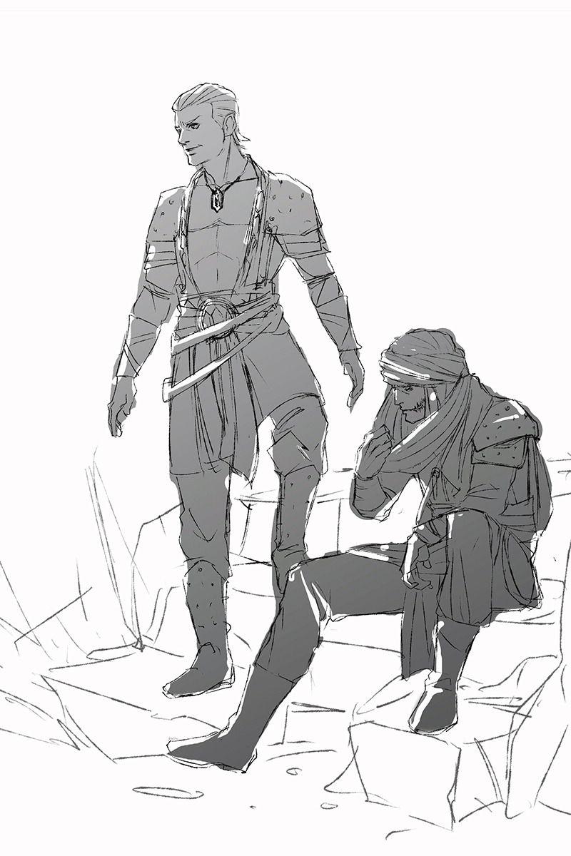 Yagson & Ydra in Zardanië Rpg character, Naruto, Akatsuki