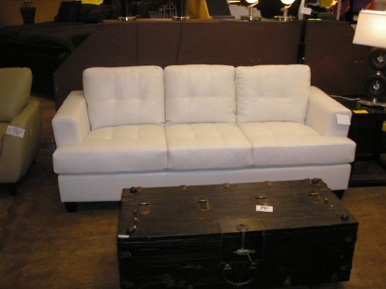 White Leather Sofa Modern black and white sectional sofa