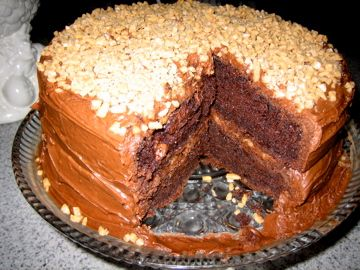 Big Mamas's magically delicious chocolate cake
