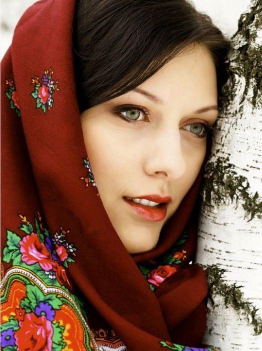 Онлайн фото лица русских женщин
