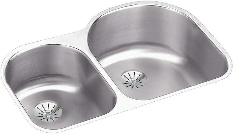 elkay eluh311910lpd products sink stainless steel sink drain rh in pinterest com