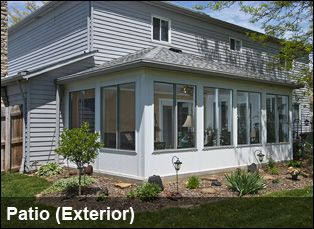 enclosed outdoor patios enclosed patio outside renovation rh pinterest com