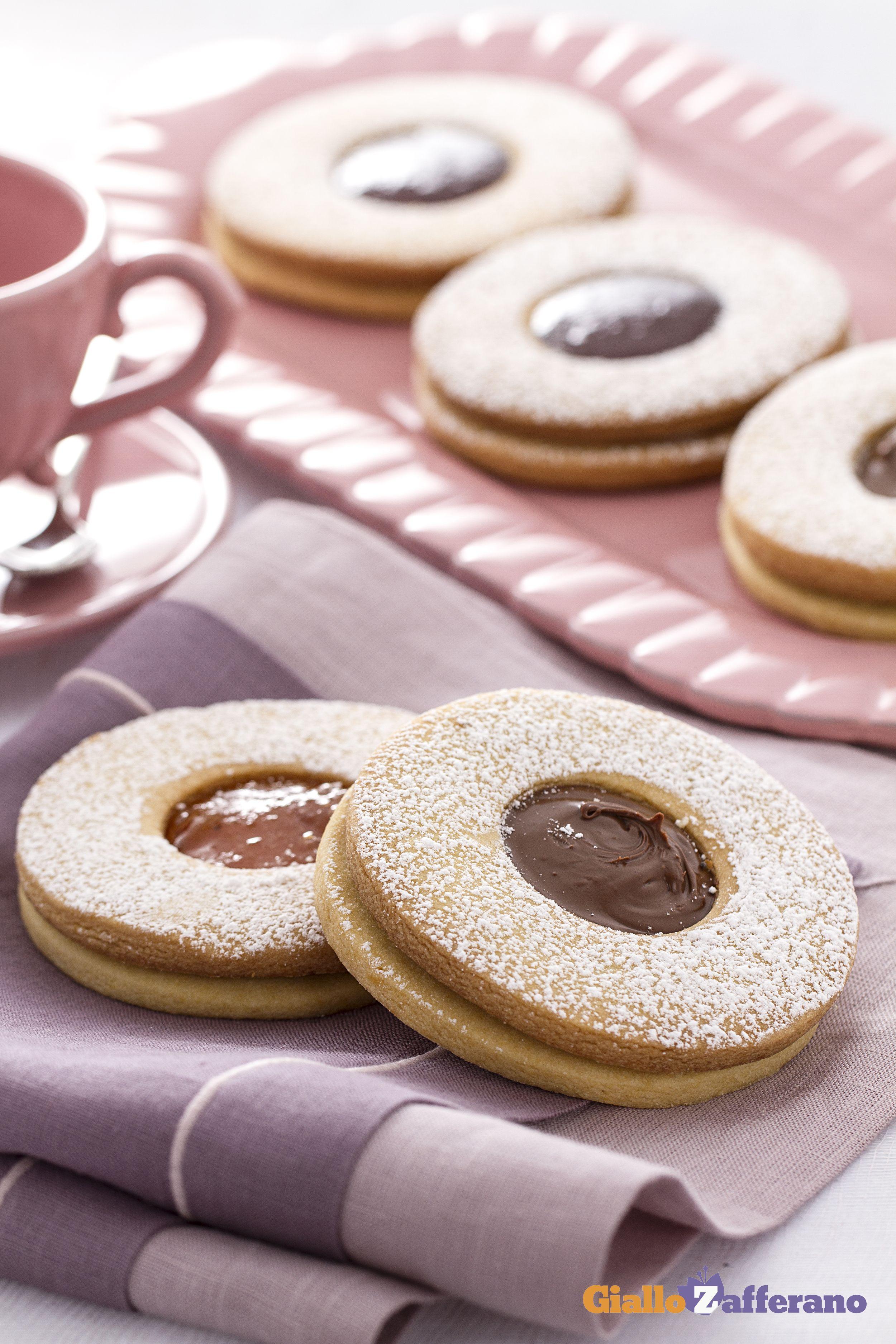 Occhio Di Bue Ricetta Cucina Pinterest Biscotti Dolci E