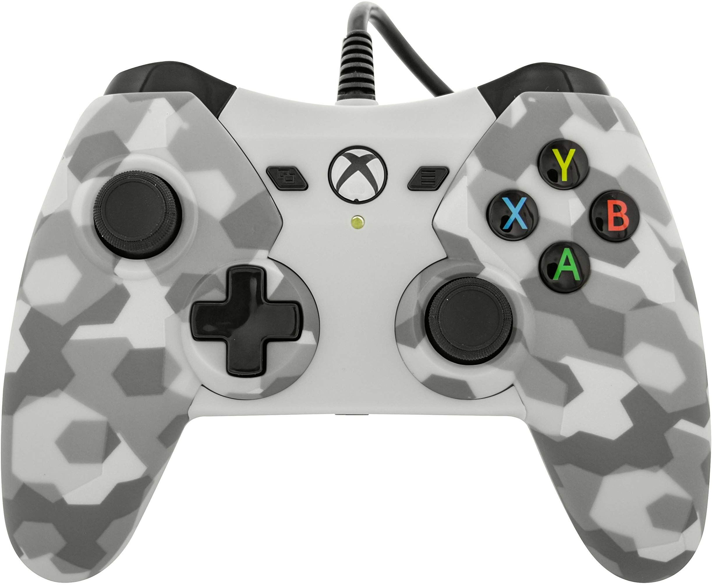 Wired Controller for Xbox One - Grey on Gray Camo Review | Xbox One ...