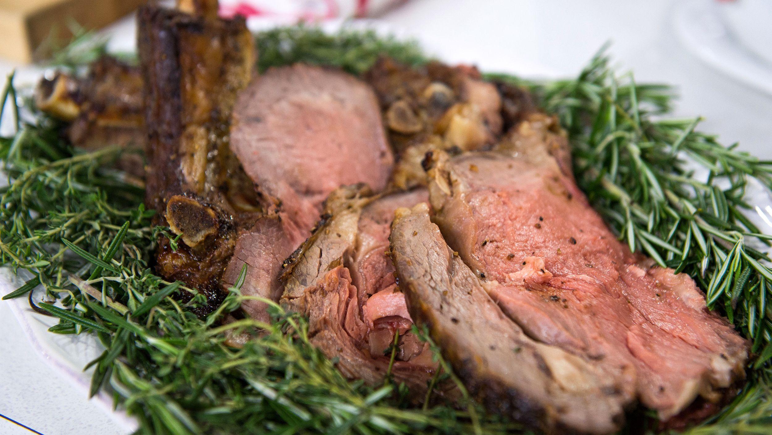 Prime Rib with Beef Gravy | Recipe | Beef gravy recipe ...