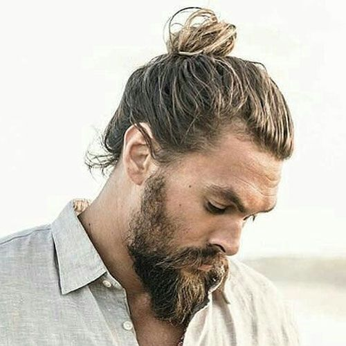 beard styles for with hair new hairstyles for 2018 beards and bun 8507