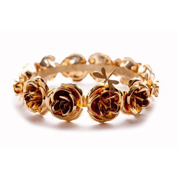 MORDEKAI Lana Rose Crown GoldPlate Accessories Pinterest