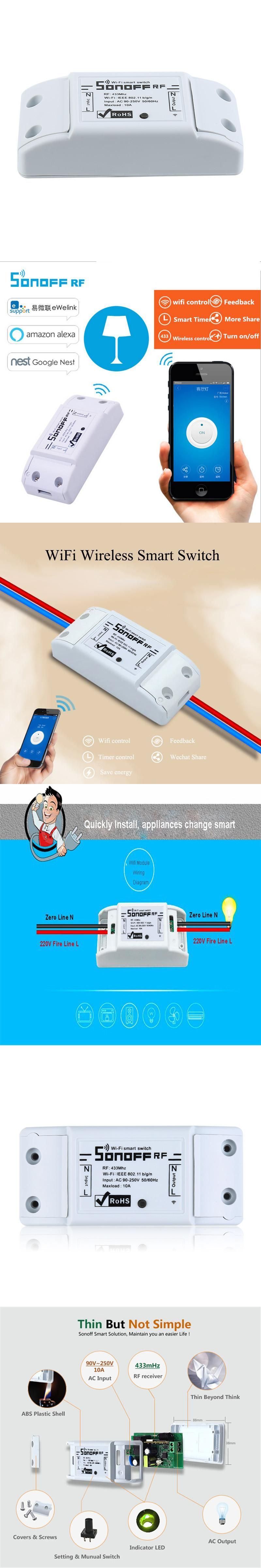 transmitter wall for compatible pin control controller light broadlink wireless switch rm pro touch rf remote