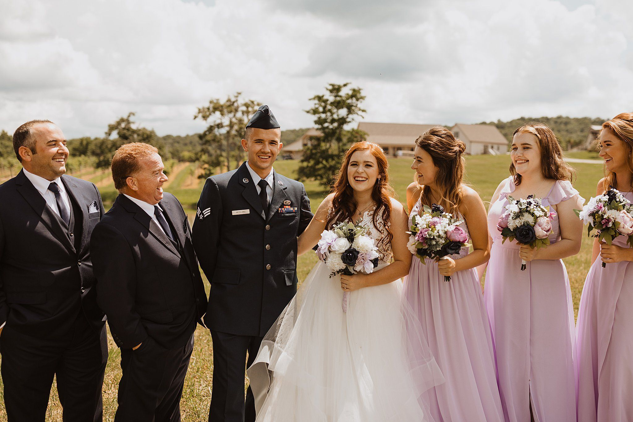 Chaumette Winery Wedding Hayley Jake Abbyrose Photo Com Winery Weddings Wedding Purple Bridesmaid Dress [ 1366 x 2048 Pixel ]