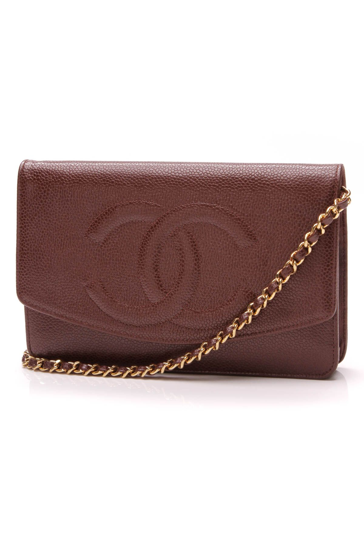 a2c30b2cb Vintage Timeless CC WOC Crossbody Bag - Brown Caviar in 2019 | Crazy ...