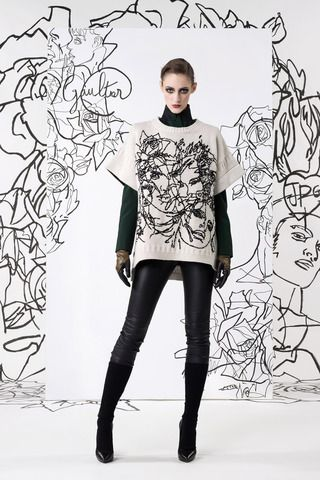 Jean Paul Gaultier Pre-Fall 2014 Collection Slideshow on Style.com