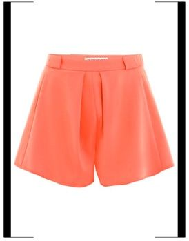 Balenciaga fluid crepe shorts - Vogue