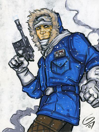 Han in Hoth Gear by grantgoboom on DeviantArt