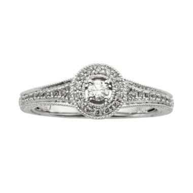 1/4 CT. T.W. Diamond 10K White Gold Promise Ring  found at @JCPenney  I REALLY really like this ring!