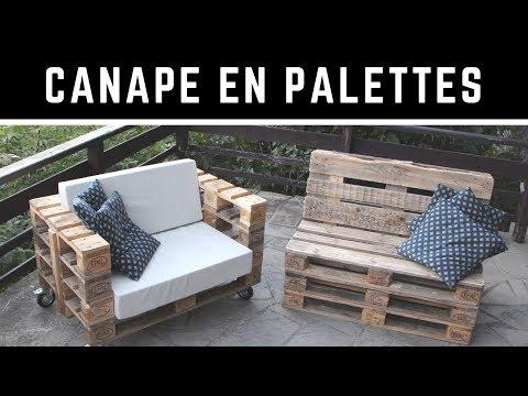 4 Comment Fabriquer Un Canape En Palette Avec Un Dossier Incline Version Complete Youtube En 2020 Fabriquer Un Canape Canape Palette Construire Un Canape