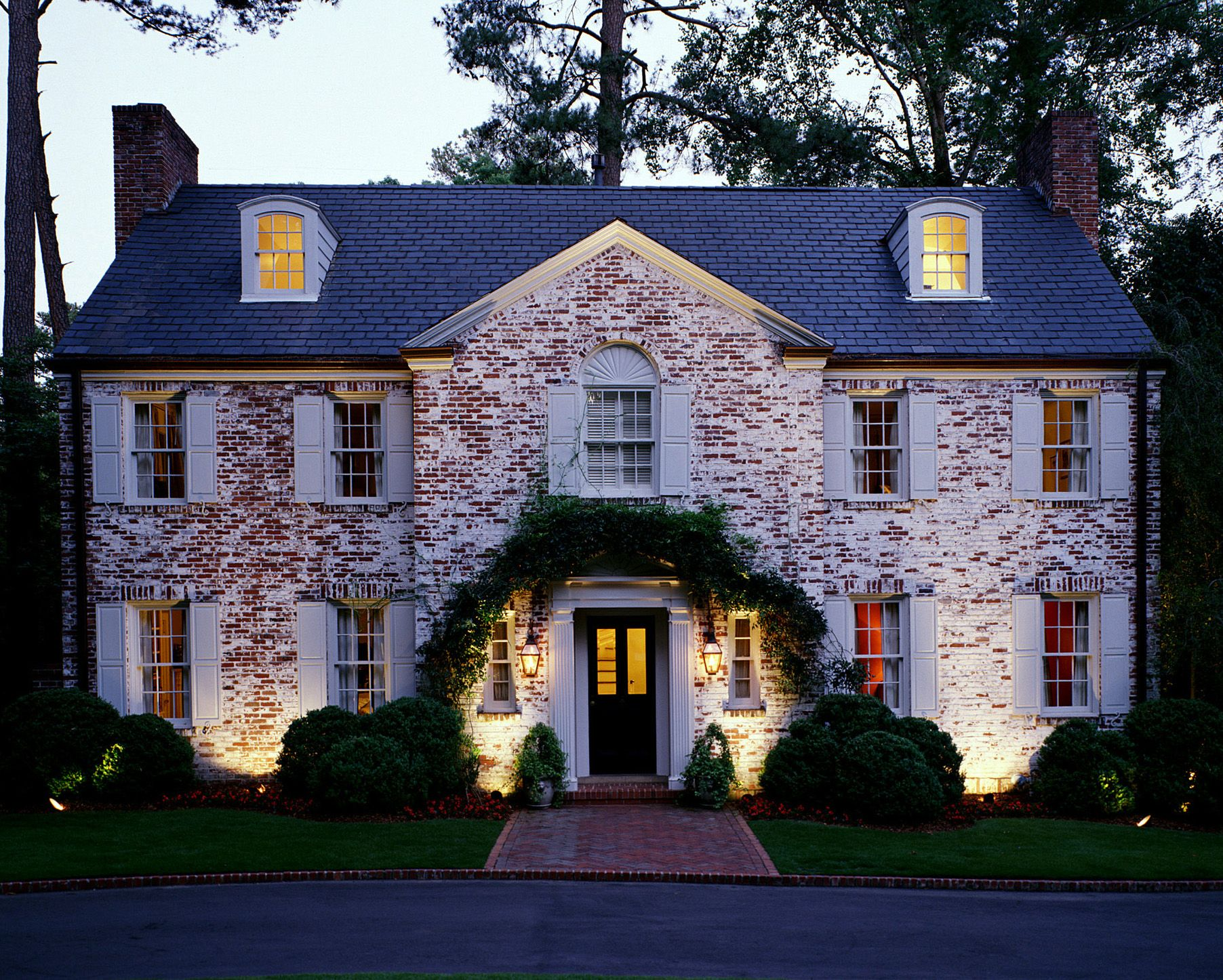 Outdoor architectural lighting outdoor lighting - Georgian style exterior lighting ...