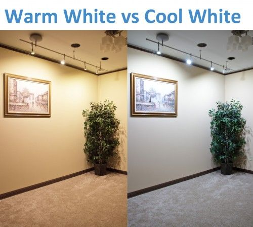 Warm White Vs Cool Led Lighting
