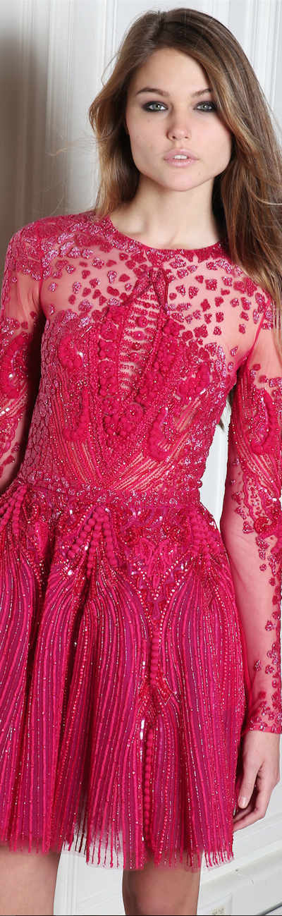 FALL 2014 Ready-To-Wear featuring Zuhair Murad
