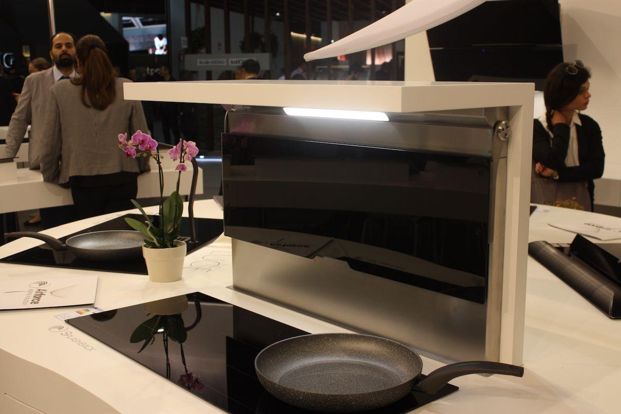 Ideen für küchenhauben stilvolle optionen für küchenhauben von eurocucina in   küche