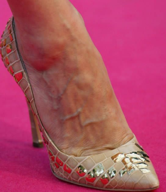 Sarah Jessica Parker Toes | Sarah Jessica Parker Feet ...