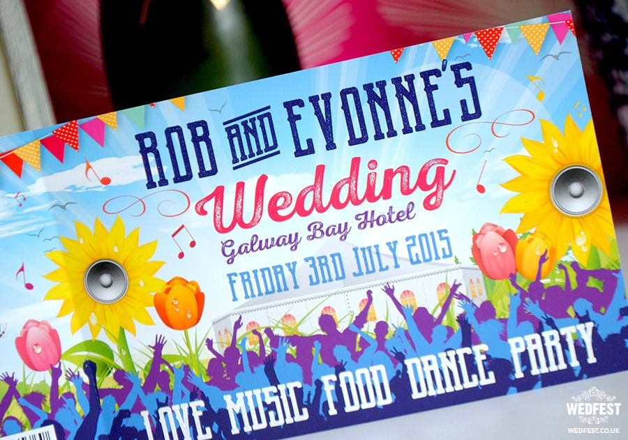 Pin by WEDFEST on Festival Wedding Stationery | Pinterest | Galway ...