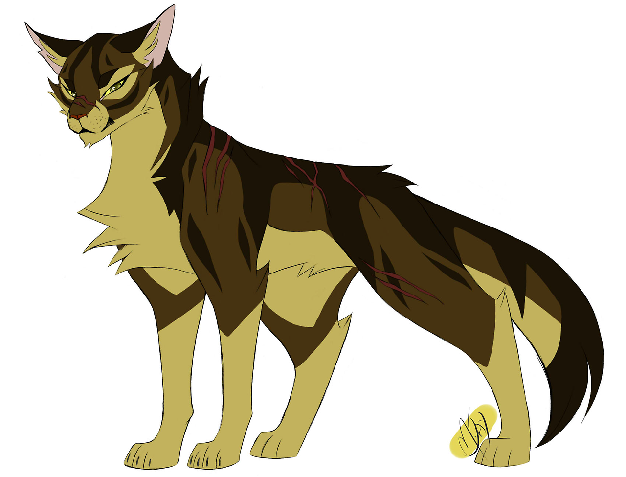 100 Warrior Cats Challenge 05 Tigerstar There He Is The
