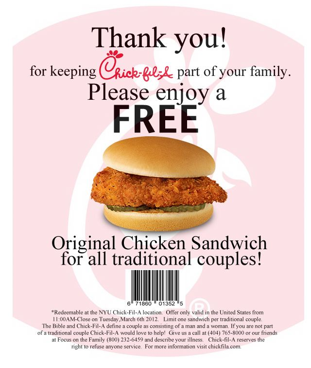 picture about Printable Chick-fil-a Coupons identify Pin by way of Larisa upon Couponchick fil a within 2019 Hen