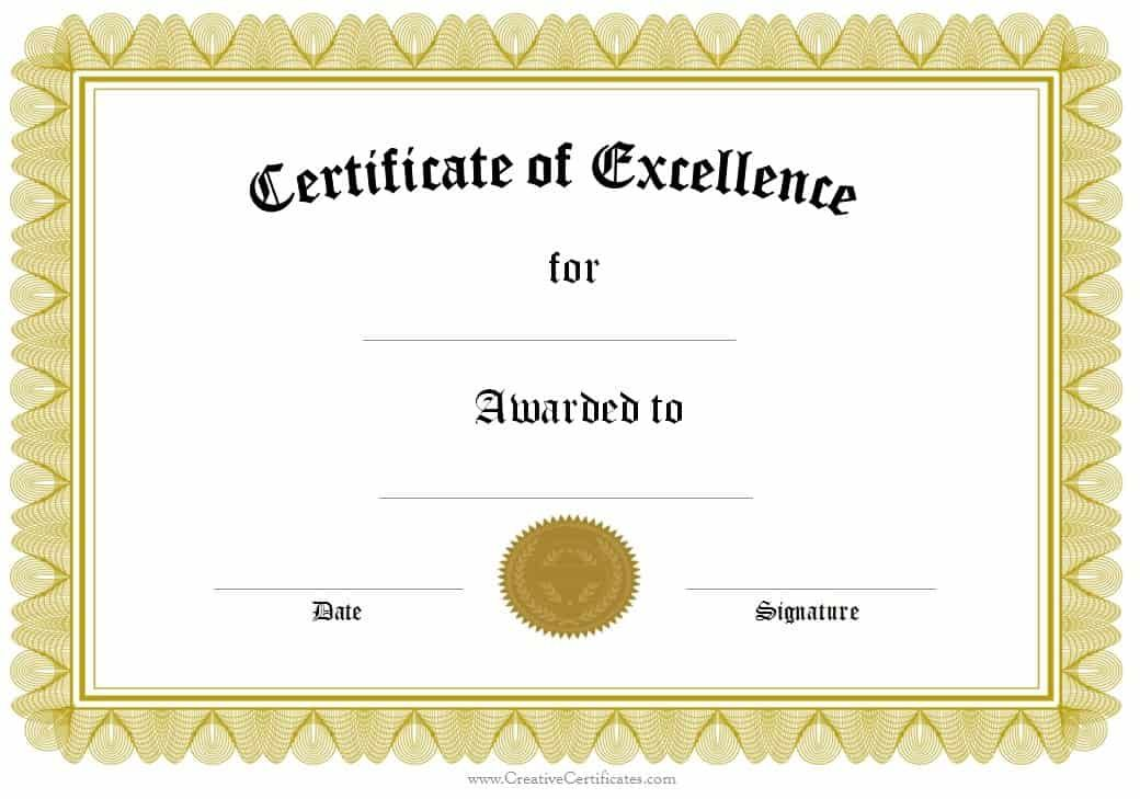 Free Award Certificate Template from i.pinimg.com