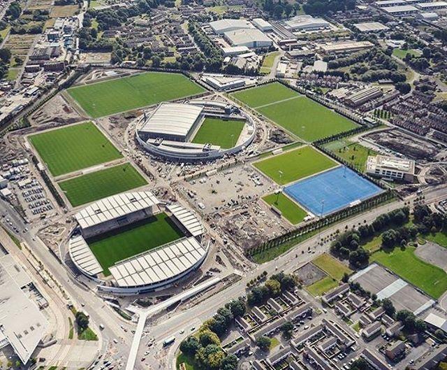La Ciudad Deportiva Del Manchester City Deportes Estadio Deportivo Estadio De Futbol