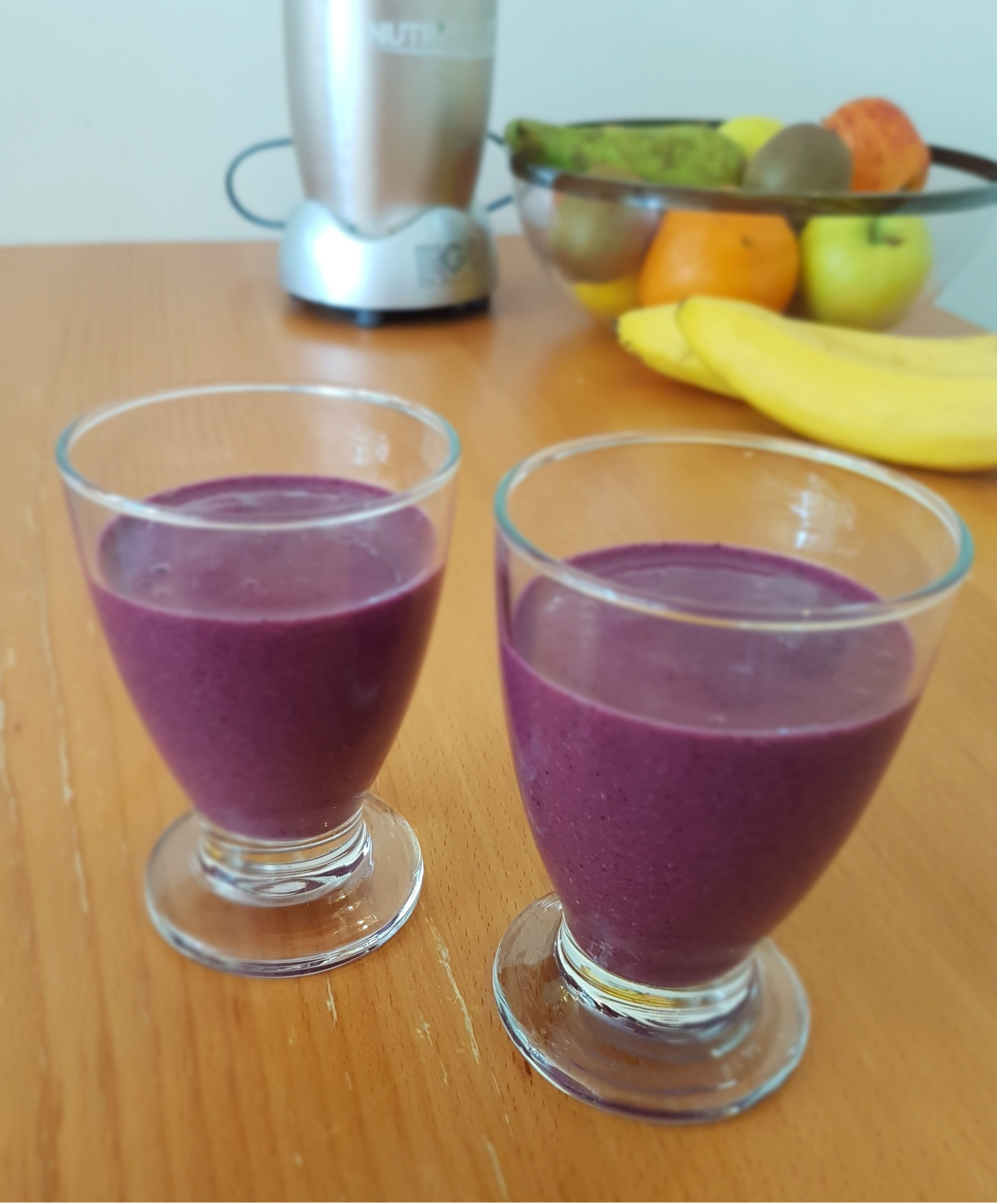 How To Make A Blueberry Smoothie Without Yogurt And Banana