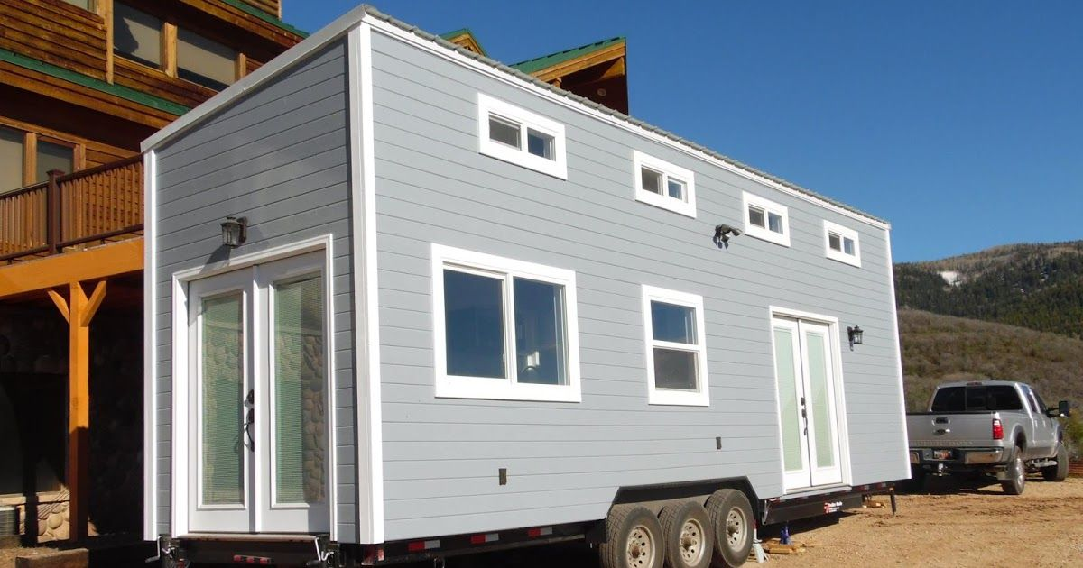 The Park City By Upper Valley Tiny Homes Tiny House Towns Tiny House Cabin Backyard Cottage