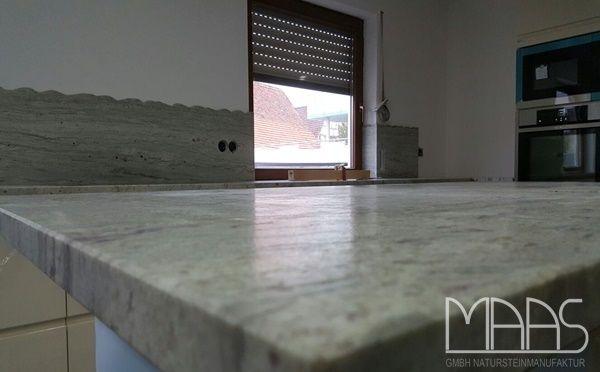 Der satinierte Juparana Bianco Granit - Diese Oberflächen - granit arbeitsplatte küche