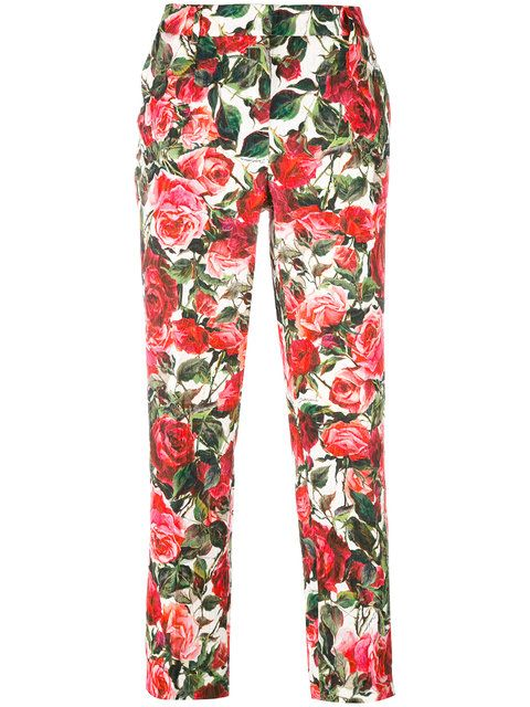 cropped trousers - Pink & Purple Dolce & Gabbana Wide Range Of For Sale izLrxU7Ra