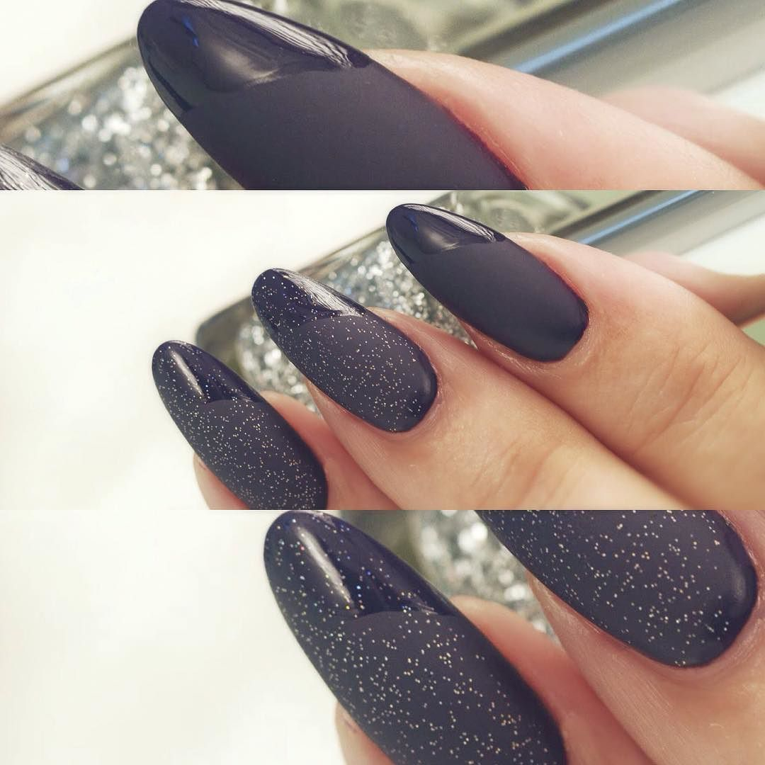 New nail art. this nail art is made with Matt top coat its looks so ...