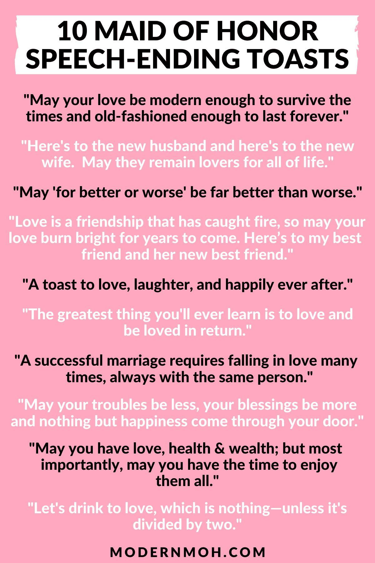 Maid Of Honor Quotes : honor, quotes, Honor, Speech, Quotes, Enhance, Toast, Speech,, Matron
