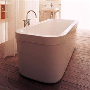 Good Duravit Happy Bathtub Freestanding Tub, White