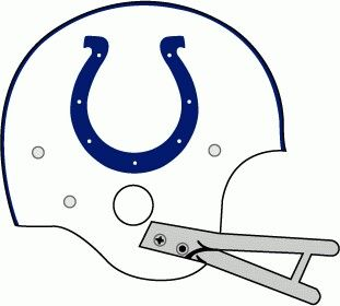 Baltimore Colts Helmet 1957-1977.