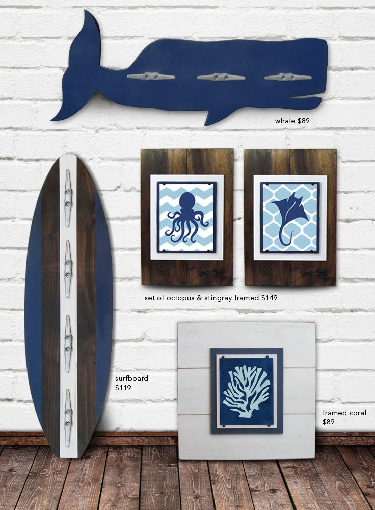 Navy Blue Nautical Decor Collection The Project Cottage
