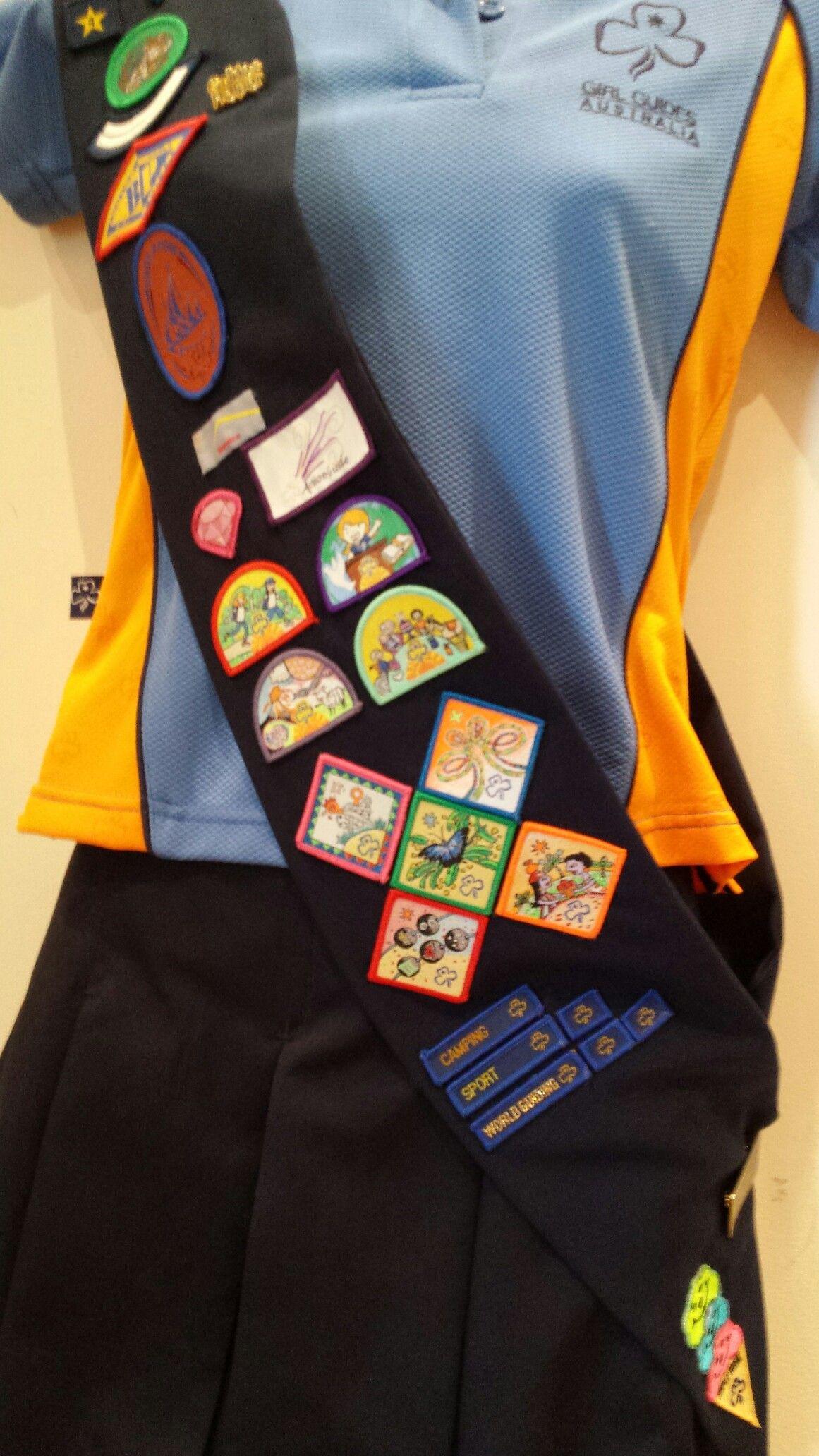 Australia Girl Guides - Vintage Girl Scout