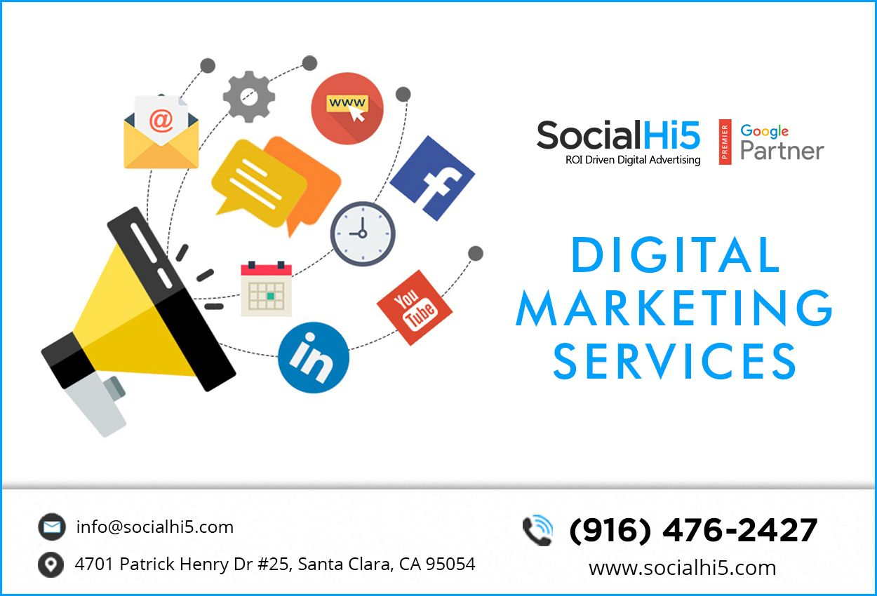 Best Digital Marketing Company Socialhi5 Digital Advertising Agency Digital Advertising Best Digital Marketing Company