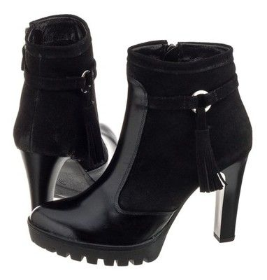 Buty Damskie Botki Na Obcasie Maciejka 02696 01 6542821513 Oficjalne Archiwum Allegro Beautiful Shoes Shoes Boots