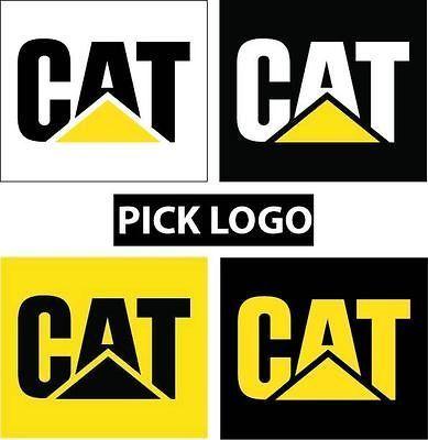 161259985 caterpillar cat sticker decal pick size logo tool