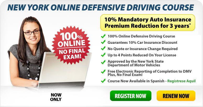 New york online defensive driving course driving courses
