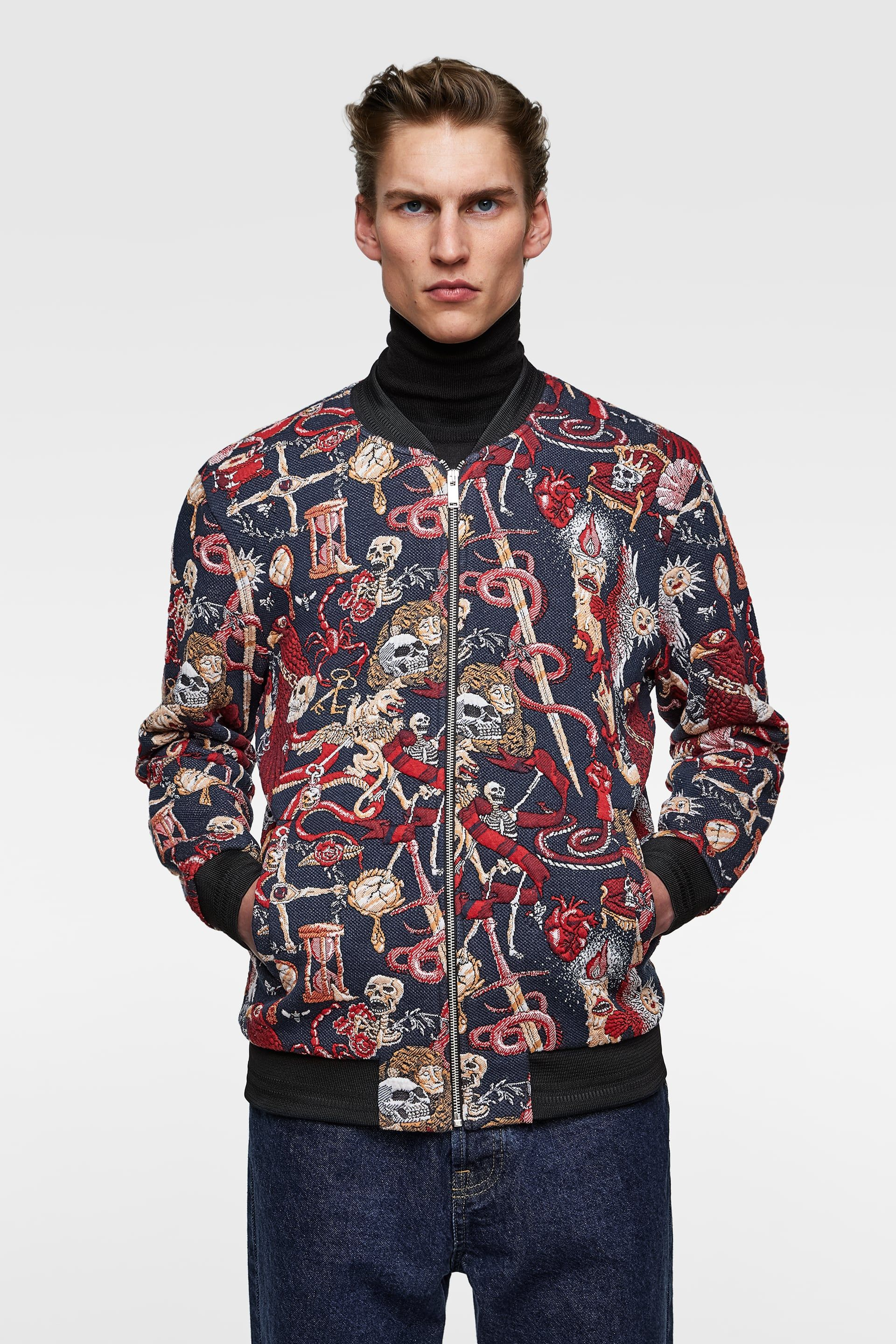 Men's Jackets New Collection Online ZARA United States