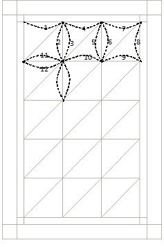 Curved Lines using a Walking Foot - Quilting