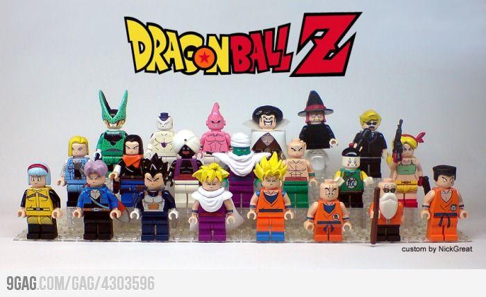 Dragonball Lego Perfect