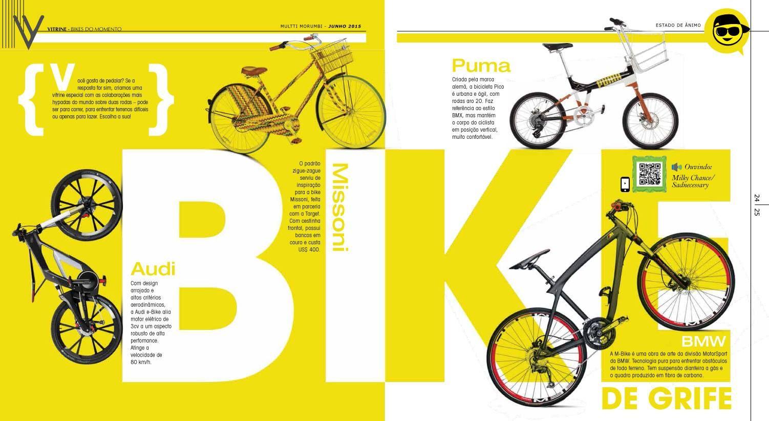 Confira esta vitrine especial de bikes