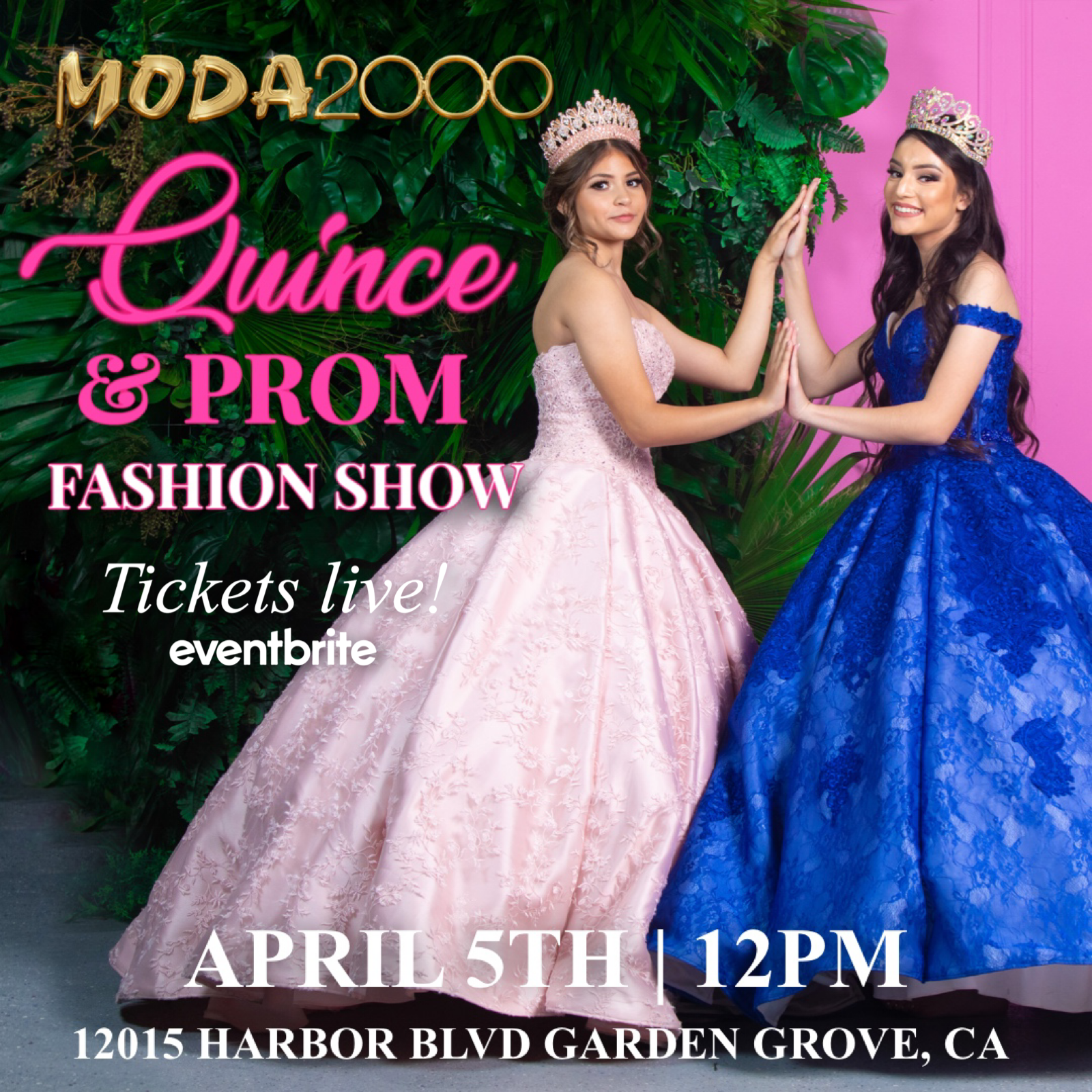 Fall in LOVE with the dress of your dreams, as Moda 2000