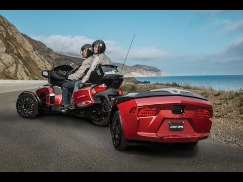 Accessory Space Saver Rack Can-Am Spyder Freedom Trailer - YouTube