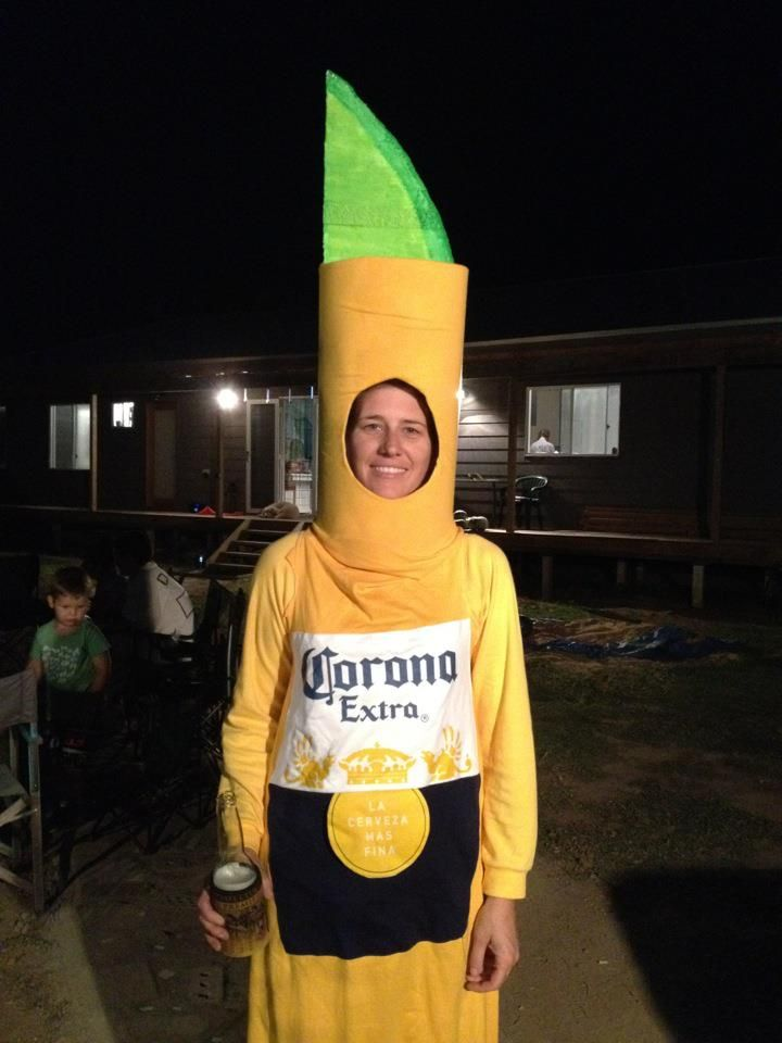 Homemade Corona Costume Costumes Mexican Party Sports Day